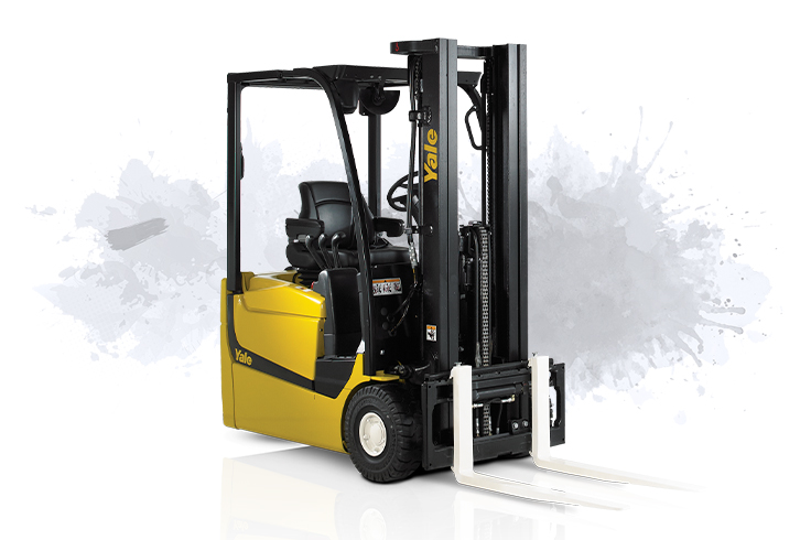 3 Wheel Rear Drive Electric Counterbalanced Forklift Truck