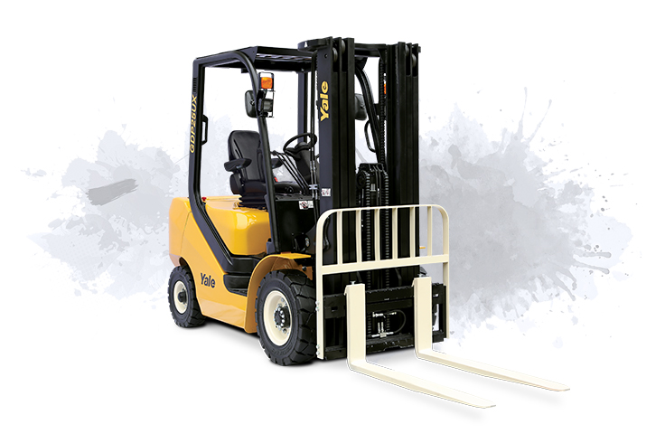 4 Wheel IC Forklift Pneumatic Tyre