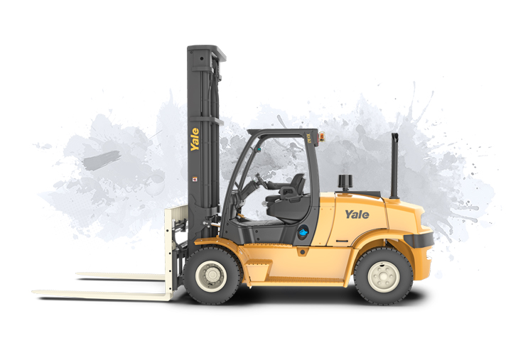 4 Wheel IC Forklift Pneumatic Tire
