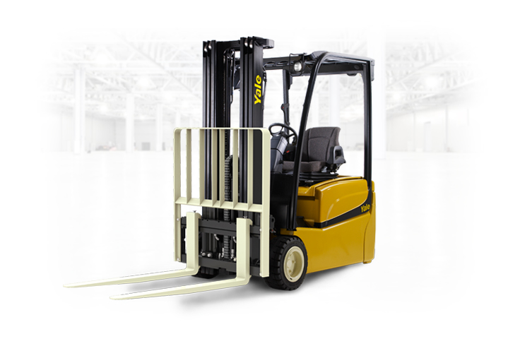 Yale ERP030-040VT | 3 Wheel Electric Counterbalanced Forklift