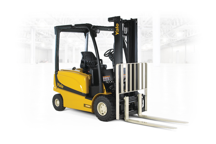 Versatile lift truck with strong performance and no emissions.