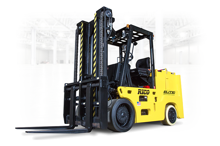 High Capacity Cushion Tire Forklift Electric