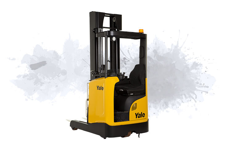Reach Truck with Tilting Mast