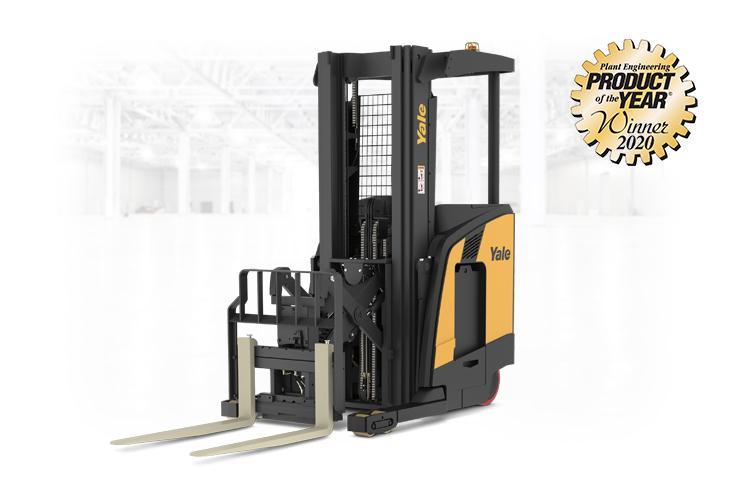 Yale Narrow Aisle Reach Truck award winning material handling